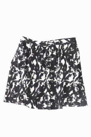 Esprit Rock Größe 38 geometrisches Muster schwarz