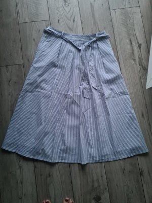 Esprit Spódnica midi biały-błękitny