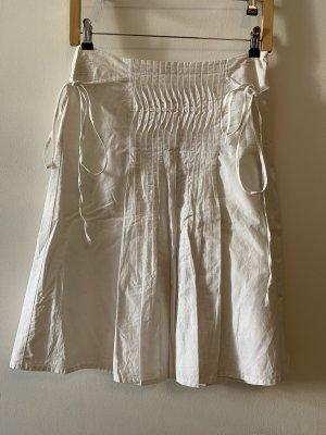 Esprit Plisowana spódnica biały