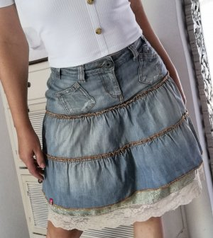 esprit collection Broomstick Skirt blue