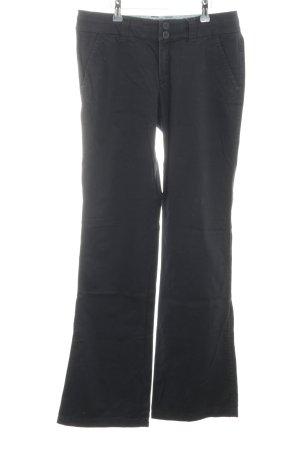 Esprit Regenpijpbroek zwart casual uitstraling