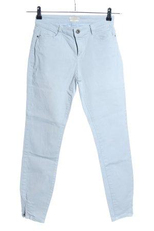 Esprit Pantalón de tubo azul look casual