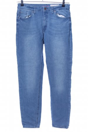 Esprit Röhrenjeans blau Casual-Look