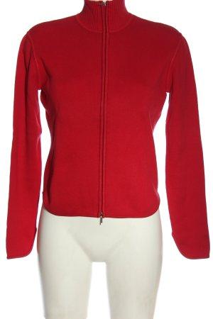 Esprit Sweter z golfem czerwony W stylu casual