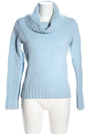 Esprit Rollkragenpullover blau Casual-Look