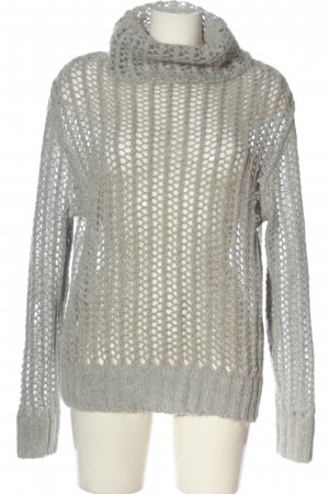 Esprit Rollkragenpullover hellgrau Casual-Look