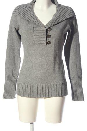 Esprit Sailor Sweater light grey flecked casual look