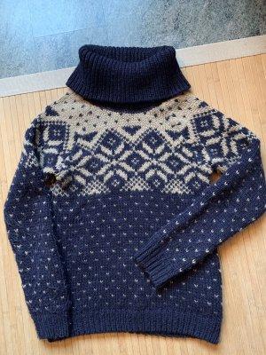 ESPRIT Rollkragenpullover Strickpullover Winterpulli Wolle S
