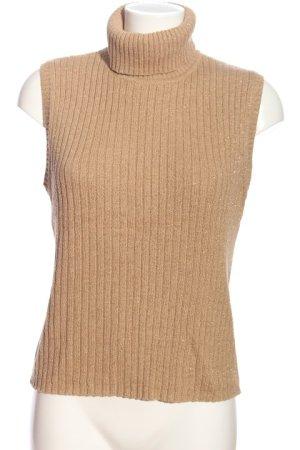Esprit Koszulka z golfem nude W stylu casual