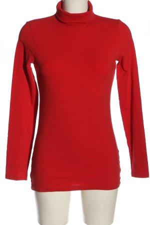 Esprit Koszulka z golfem czerwony W stylu casual
