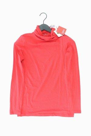 Esprit Rollkragenshirt Größe 36 neu mit Etikett Langarm rot aus Baumwolle