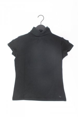 Esprit Camisa de cuello de tortuga negro Algodón