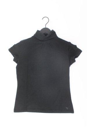 Esprit Rollkragenshirt Größe L Kurzarm schwarz aus Baumwolle