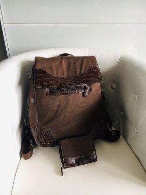 Esprit Rucksack mit Geldbörse
