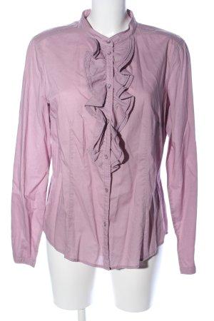 Esprit Ruche blouse lila zakelijke stijl