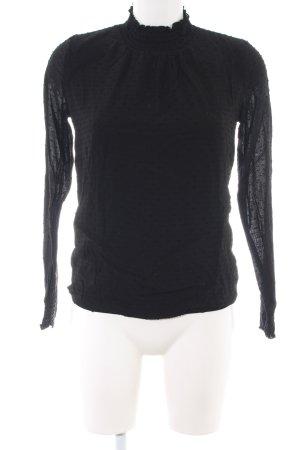 Esprit Rüschen-Bluse schwarz Elegant