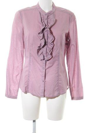 Esprit Rüschen-Bluse pink Casual-Look