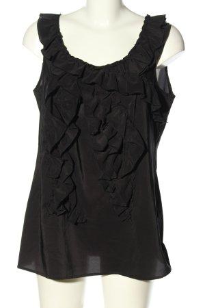 Esprit Frill Top black casual look