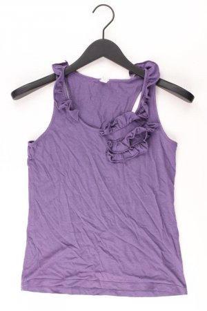 Esprit Top met franjes lila-mauve-paars-donkerpaars