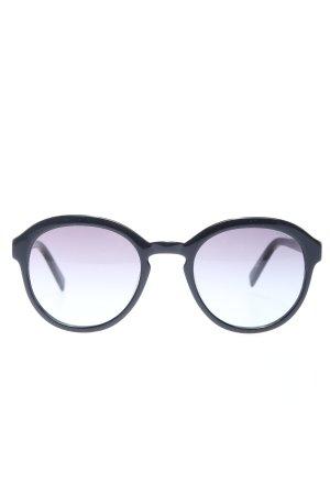 Esprit runde Sonnenbrille schwarz Casual-Look