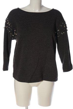 Esprit Kraagloze sweater lichtgrijs casual uitstraling