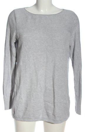 Esprit Sweter z okrągłym dekoltem jasnoszary W stylu casual