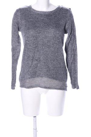 Esprit Sweter z okrągłym dekoltem jasnoszary Melanżowy W stylu casual