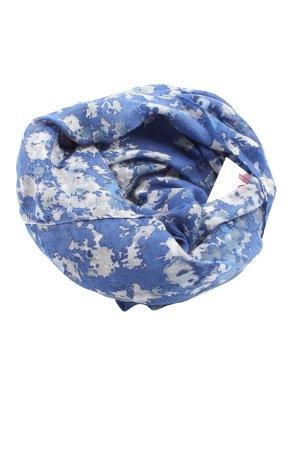 Esprit Sciarpone blu-bianco stampa integrale stile casual