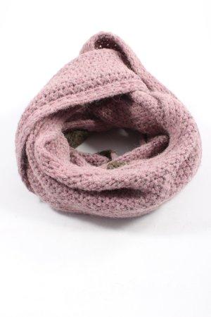 Esprit Snood roze-lichtgrijs kabel steek elegant