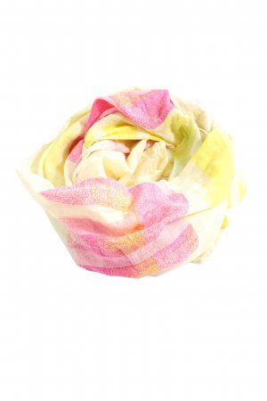 Esprit Caperuza rosa-amarillo pálido estampado a cuadros look casual