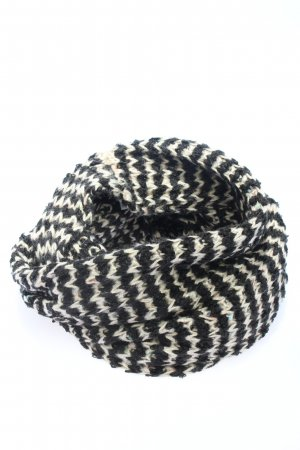 Esprit Snood black-white striped pattern casual look