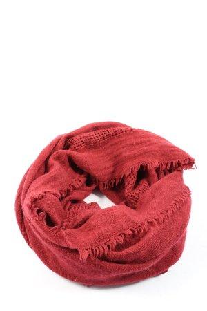 Esprit Sciarpone rosso stile casual