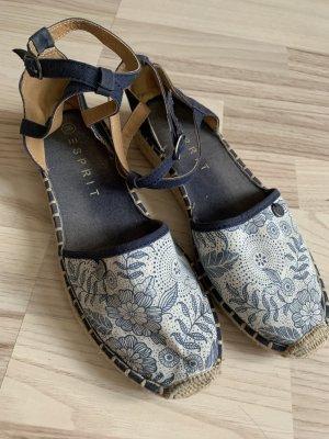 Esprit Espadrille Sandals multicolored