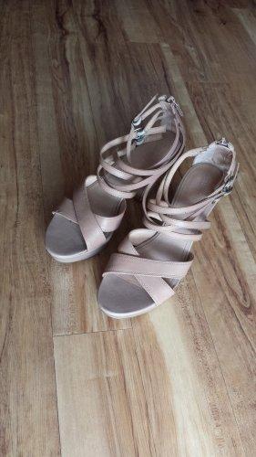 Esprit Platform High-Heeled Sandal nude-beige