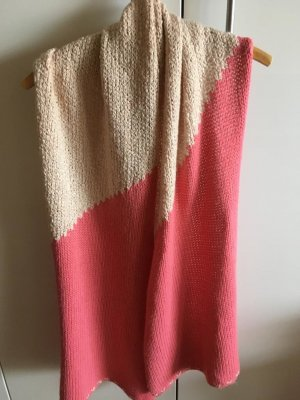 Esprit Bufanda de lana blanco-rosa