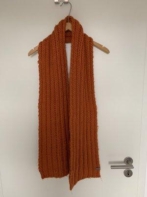 Esprit Bufanda de lana naranja