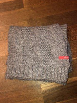 Edc Esprit Woolen Scarf grey wool
