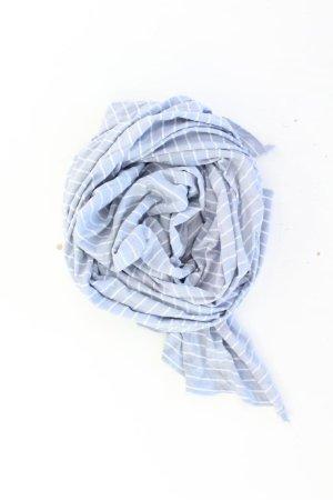 Esprit Schal gestreift blau aus Baumwolle