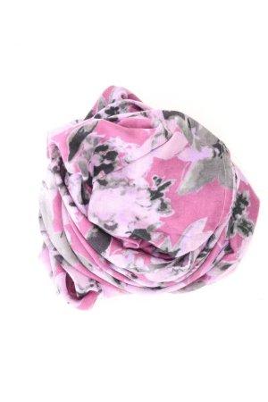 Esprit Schal mit Blumenmuster lila
