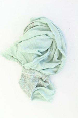 Esprit Scarf turquoise polyester