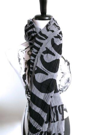 ESPRIT Schal Typografie XXL black-grey