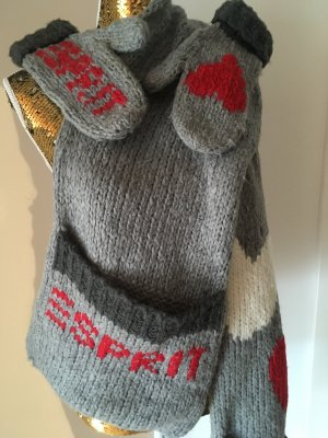 Esprit Schal und Handschuhe Set