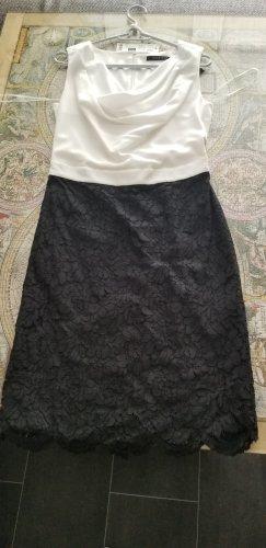 Esprit Pencil Dress black-white polyester