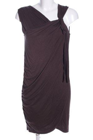 Esprit Vestido de tubo marrón elegante