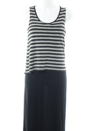 Esprit Vestido de tubo Mezcla de patrones look con capas