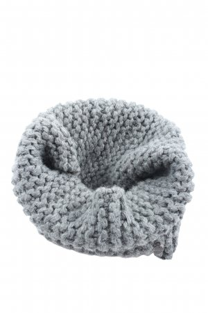 Esprit Tube Scarf light grey cable stitch elegant