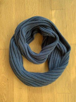 Esprit Bufanda tubo azul acero