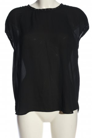 Esprit Schlupf-Bluse schwarz Casual-Look
