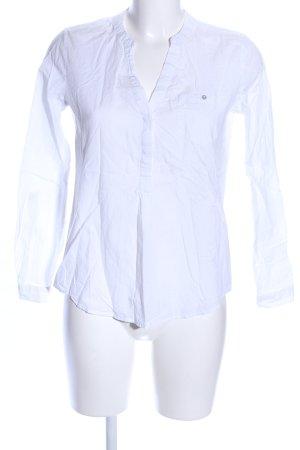 Esprit Blusa caída blanco estilo «business»