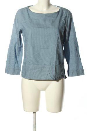 Esprit Schlupf-Bluse blau Streifenmuster Casual-Look